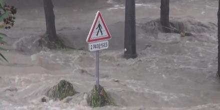 Inondations à Montpellier fin septembre 2014 (capture d'écran DamDam Pamyu Pamyu/Youtube)