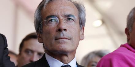 Frédéric Saint-Geours, président par intérim du directoire de la SNCF et ancien président de l'UIMM