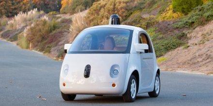 Prototype de voiture sans chauffeur Google Car
