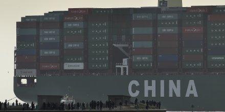 La croissance des exportations chinoises plus forte que prevu