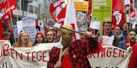 Le pib de la belgique au ralenti a cause des mouvements sociaux