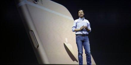 Lei Jun, PDG et fondateur du fabricant chinois de smartphones Xiaomi, en janvier 2015