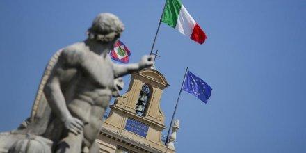 Troisieme annee consecutive de contraction economique en italie