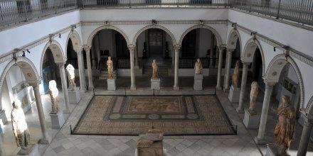 Le musée du Bardo à Tunis