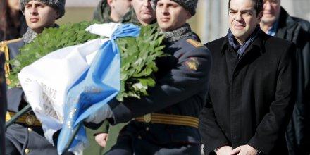 Tsipras à Moscou