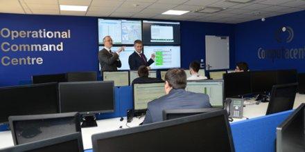 Computacenter, centre de services de Montpellier, inauguré le 9 avril 2015.