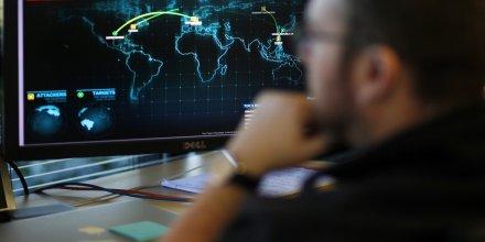 Carte de FireEye des cyber menaces en temps réel