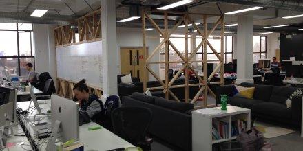 Les bureaux de GoCardless, à Londres