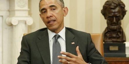 Barack obama autorise le congres a se prononcer sur un accord avec l'iran