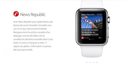 News Republic Apple Watch