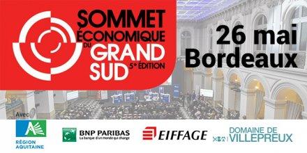 Sommet économique du Grand Sud Bordeaux 2015