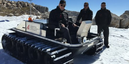 Antarctica véhicules électriques Venturi