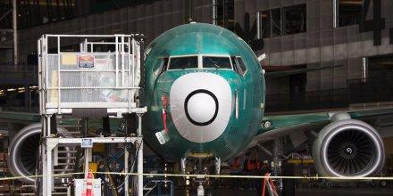 Boeing etudie une niche representant un millier d'avions