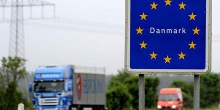 Le danemark veut retablir le controle frontalier avec l'allemagne