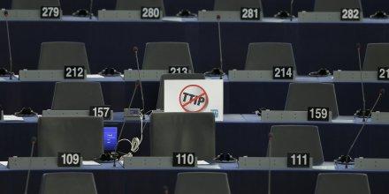 Soutien conditionnel des deputes europeens au ttip