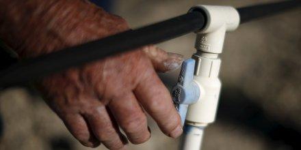 Forte reduction de la consommation d'eau en californie