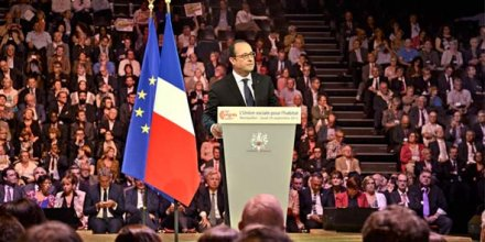 François Hollande était, après François Mitterrand, le 2e Président à s'exprimer lors du Congrès annuel de l'USH