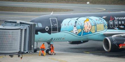 Aéroport de Bordeaux Brussel Airlines