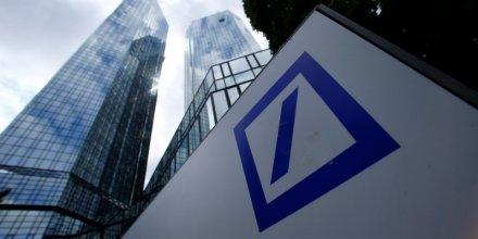 Lourdes charges exceptionnelles pour deutsche bank au 3e trimestre