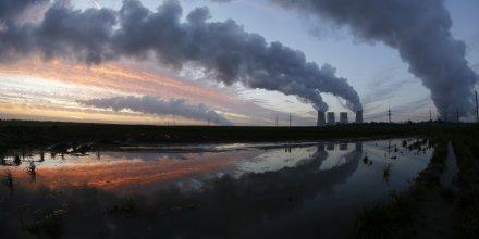 Une usine de charbon en Allemagne