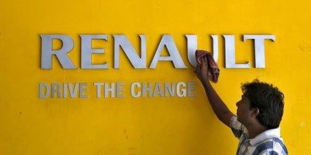 Renault, a suivre et en forte hausse a mi-seance a paris