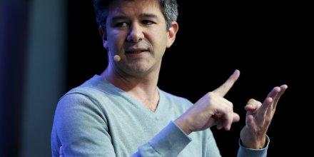 Travis Kalanick, PDG et fondateur d'Uber