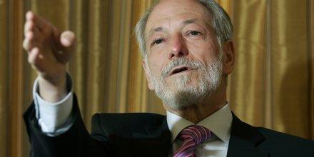 Jean-Francois Roverato, alors PDG d'Eiffage, en 2007