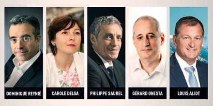 Les 5 candidats réagiront aux interpellations du monde économique