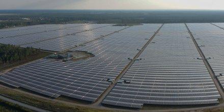 Parc photovoltaïque