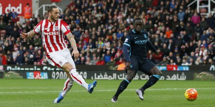 Manchester city tombe a stoke