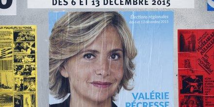 Valérie Pécresse, élections régionales 2015,