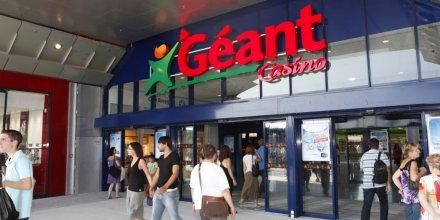 Un hyperrmarché Géant du groupe Casino en France