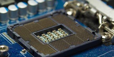 Microprocesseurs Intel (CPU, puces, micropuces, carte mère, puces)