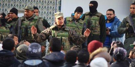 La Tunisie sous couvre-feu