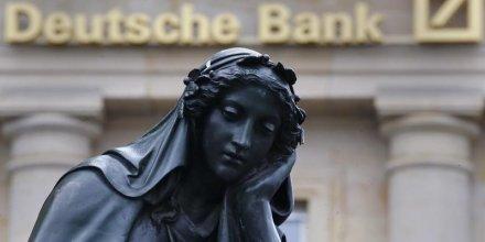 Pour le fmi, deutsche bank est la banque systemique la plus risquee