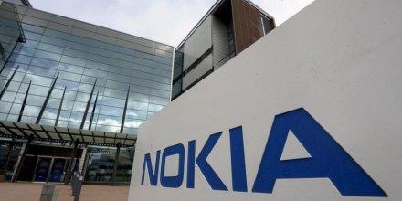 Nokia, plus fort recul du cac 40 a mi-seance