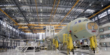 Airbus ligne assemblage