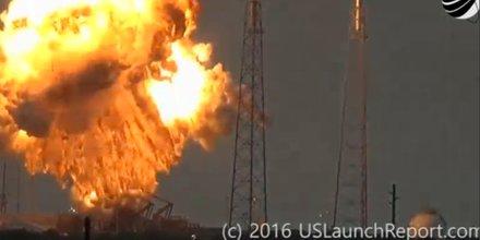 SpaceX, explosion, fusée Falcon9, Elon Musk, Nasa, lanceur, satellite, Cap Canaveral,