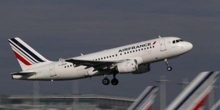 Le trafic passagers d'air france-klm en repli en aout