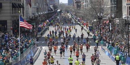 Boston, marathon, 2016.04.18, attentats, résilience, Etats-Unis, élection présidentielle, Massachusetts, course, coureurs,