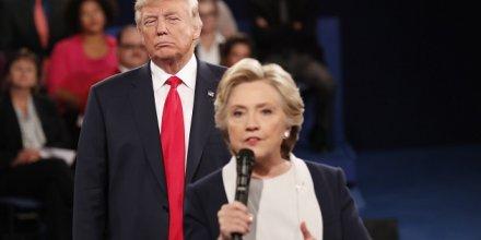 débat clinton trump