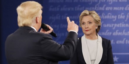 Trump, Clinton, débat télévisé, face-à-face, élection présidentielle américaine, Etats-unis,