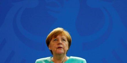 Merkel annoncerait ce soir sa candidature