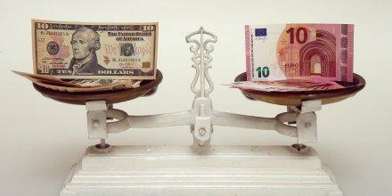 Euro, dollar, parité, monnaie,