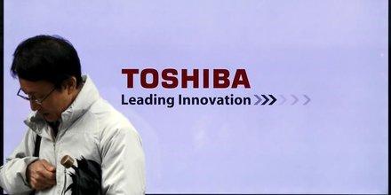 Toshiba reclame 1,6 milliard d'euros de prets pour se restructurer