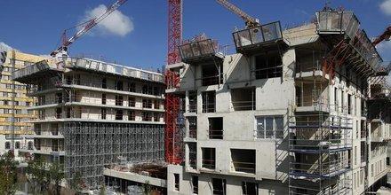 Les mises en chantier de logements en leger repli a fin aout