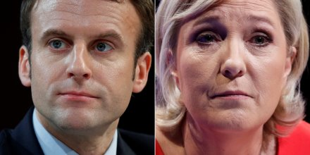 Estimations: duel macron-le pen au 2nd tour de la presidentielle