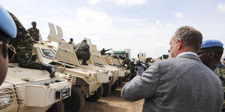 MINUSS ONU Sud Soudan force armée casques bleu