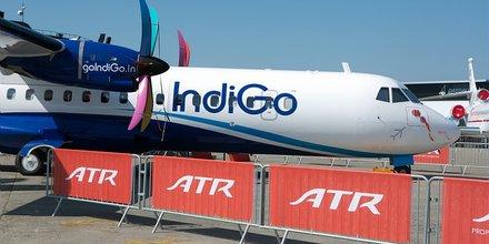 ATR ATR 72-600 IndiGo Turbopropulseur