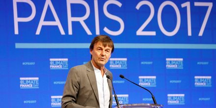 Nicolas Hulot Climate Finance Day